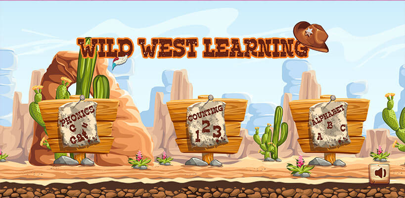 Wild West Learning Main Menu