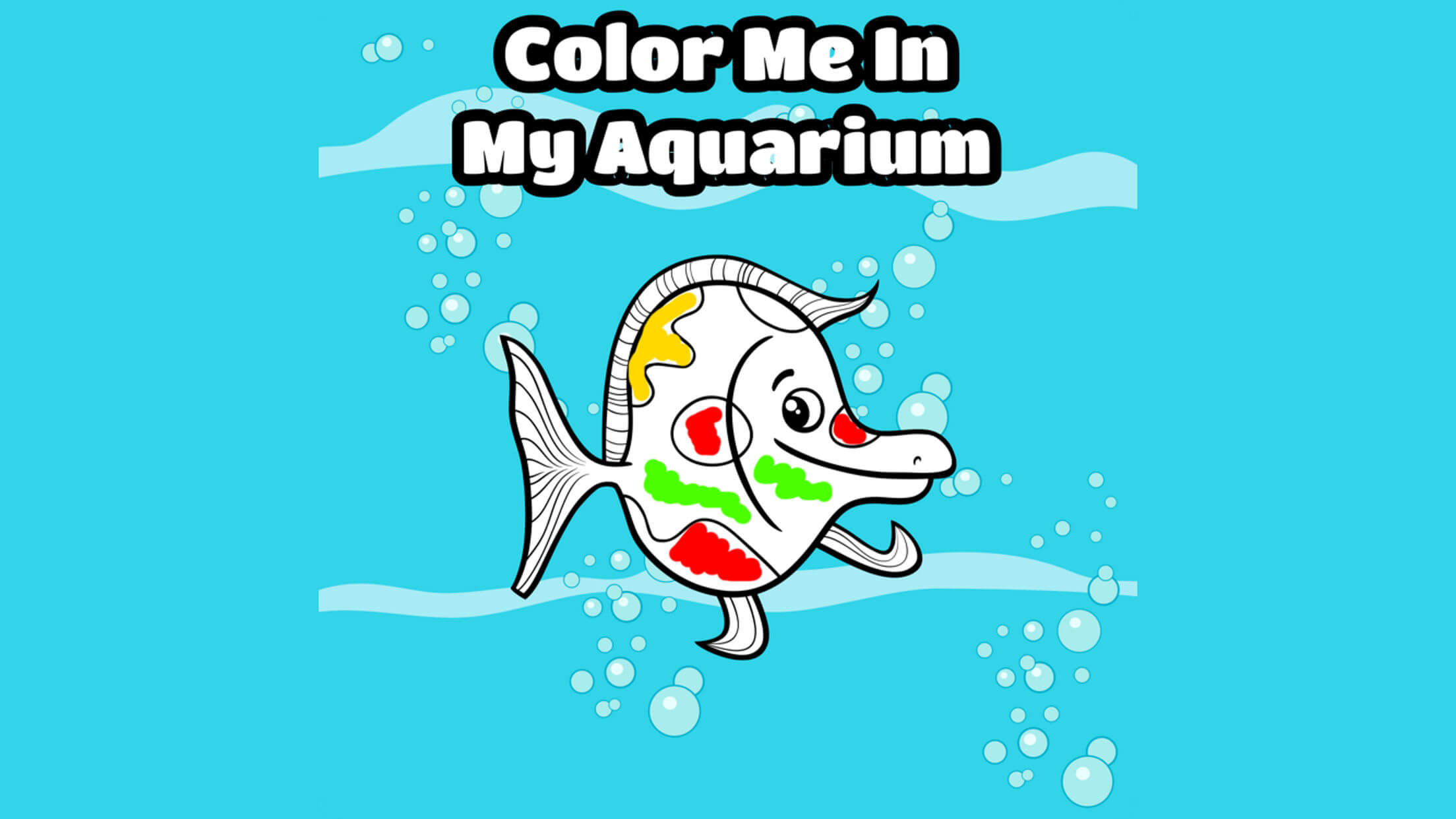 Color Me In: Aquarium